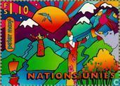 Postzegels - Verenigde Naties - Genève - Milieuconferentie