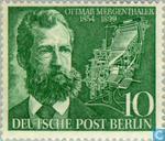 Postage Stamps - Berlin - Mergenthaler, Ottmar