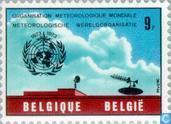 Timbres-poste - Belgique [BEL] - Organisation Météorologique Mondiale