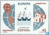 Postage Stamps - Spain [ESP] - Europe – Discovery of America