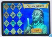 Trading cards - Harry Potter 5) Chamber of Secrets - Angelina Johnson