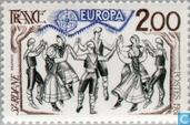 Postage Stamps - France [FRA] - Europe – Folklore