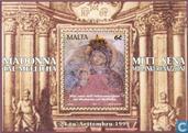 Postzegels - Malta - Madonna
