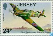 Postzegels - Jersey - Battle of Brittain 1940