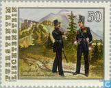 Briefmarken - Liechtenstein - Soldaten-Regiment