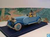 """Modelauto's  - Atlas - De Lincoln Torpedo uit """"De Sigaren van de Farao"""""""
