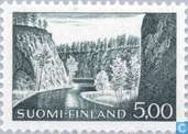 Timbres-poste - Finlande - Paysage