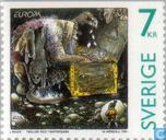 Postage Stamps - Sweden [SWE] - Europe – Tales and legends