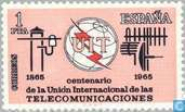 Postage Stamps - Spain [ESP] - 100 years of ITU