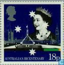 Postage Stamps - Great Britain [GBR] - 200 years of colonization Australia