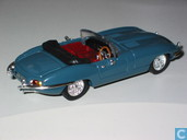 Voitures miniatures - Vanguards - Jaguar E-Type 3,8 - Cotswold Blue