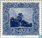 Postzegels - Liechtenstein - Schilderijen van Hollandse meesters