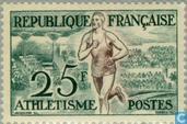 Postage Stamps - France [FRA] - Helsinki Olympics