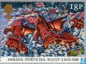 Timbres-poste - Grande-Bretagne [GBR] - Victoire sur Armada 400 années