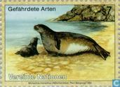 Timbres-poste - Nations unies - Vienne - Animaux en voie de disparition