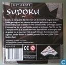 Spellen - Sudoku - Het grote sudoku spel