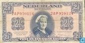 Bankbiljetten - Geldzuivering Nederland - 2,5 gulden Nederland 1945