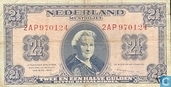 Billets de banque - Geldzuivering Nederland - 2,5 florins néerlandais 1945