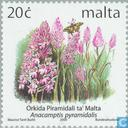 Postzegels - Malta - Bloemen