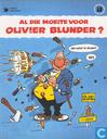 Comics - Albert Enzian - Al die moeite voor Olivier Blunder