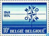 Timbres-poste - Belgique [BEL] - Jubilé de l'OTAN