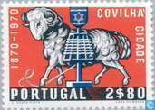 Postage Stamps - Portugal [PRT] - 100 years city rights Covilhã