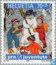 Postage Stamps - Switzerland [CHE] - Children's books and children's dreams