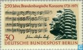 Briefmarken - Berlin - Brandenburgisches Konzert 1721-1971