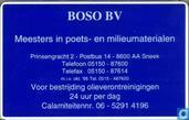 Boso bv poets en milieumaterialen