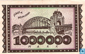 Billets de banque - Düsseldorf - Stadt - Düsseldorf 1 Million Mark 1923