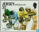Postage Stamps - Jersey - Development