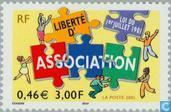 Timbres-poste - France [FRA] - Liberté d'association