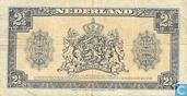 Banknoten  - Geldzuivering Nederland - 2,5 1945 niederländische Gulden