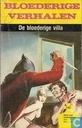 Bandes dessinées - Bloederige verhalen - De bloederige villa