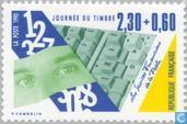 Postzegels - Frankrijk [FRA] - Toetsenbord