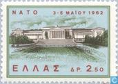 Postage Stamps - Greece - NATO Conference