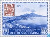 Timbres-poste - Saint-Marin - Naples anniversaire Stamp