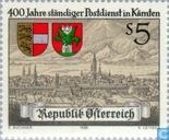 Timbres-poste - Autriche [AUT] - Kärnten service postal 400 années