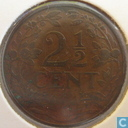 Coins - the Netherlands - Netherlands 2½ cents 1912