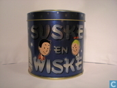 Blikken en trommels - Dutch tin design - Suske en Wiske Opbergblik