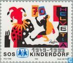 Postage Stamps - Switzerland [CHE] - SOS Children's Village 50 years