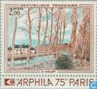 Postage Stamps - France [FRA] - Painting Alfred Sisley
