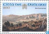 Postage Stamps - Vatican City - Holy places in Palestine