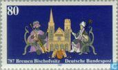 Postage Stamps - Germany, Federal Republic [DEU] - Diocese of Bremen 787-1987