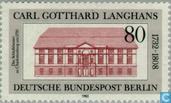 Postage Stamps - Berlin - Langhans, Carl Gotthard 250 years
