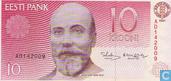 Billets de banque - Eesti Pank - Estonie 10 Krooni