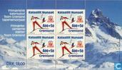 Postage Stamps - Greenland - Olympic Games