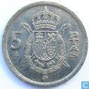 Spanje 5 pesetas 1979