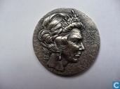Beatrix-50 Zilverstuk