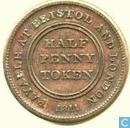 Groot Brittannië ½ penny token 1811